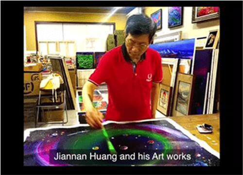 黄建南专题创美国艺术视频新高_一周内逾百万人次关注
